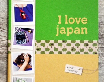 Book I love Japan - do-it-yourself