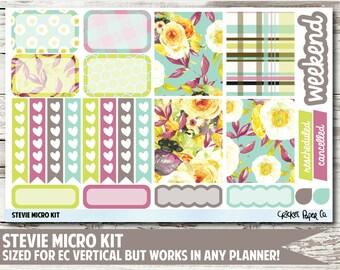 Stevie Micro Kit Planner Stickers