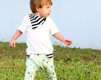 PDF Pattern - Pocket Joggers Pants - Babies/Toddlers - Sizes Newborn to 5-6T - Instant Download - Easy Photo Tutorial
