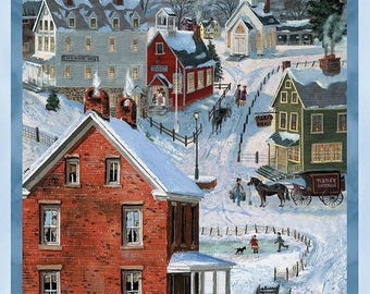 After the Snow Panel by Wilmington Prints