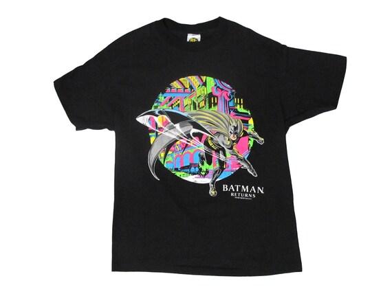Batman Returns Michael Keaton Neon T-Shirt