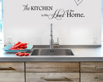 Kitchen decor wall art vinyl sticker for the home