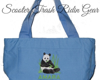 Free Shipping - Personalized Panda Bear Lunch Bag - More Colors - monogrammed - NEW