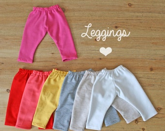 Leggings for waldorf doll - doll clothes - made to order - middle sized doll - custom clothing
