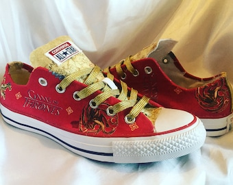 Game of Thrones Shoes - Converse - GOT - Custom Trainers