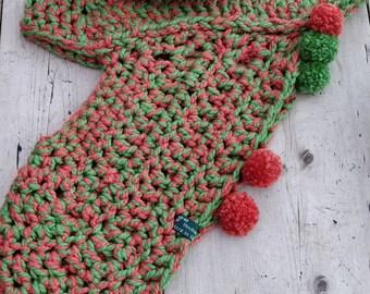 Super chunky, superfunky, handmade, crochet Archers Cowl