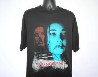 1998 Dee Snider's Strangeland Rare Vintage Wanna Come To A Party Tour Cult Classic 90's Body Modification Horror Movie Promo T-Shirt