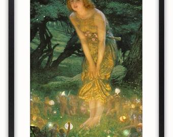 Midsummers Eve - Vintage Art Poster