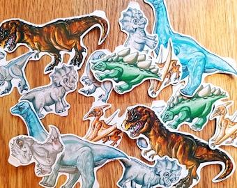 Jurassic World Inspired Dinosaur Stickers