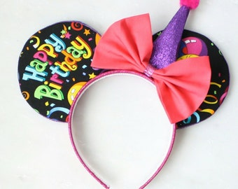 Happy Birthday Mouse Ears