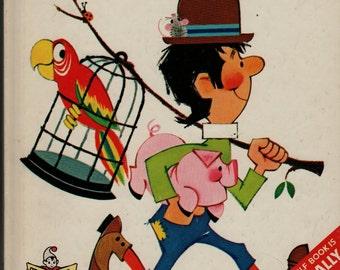 Jack Sprat a Start-Right Elf Book - Helen Wing - Anne Sellers Leaf - 1966 - Vintage Kids Book