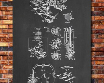3D Printer Patent Print Art 1992 A