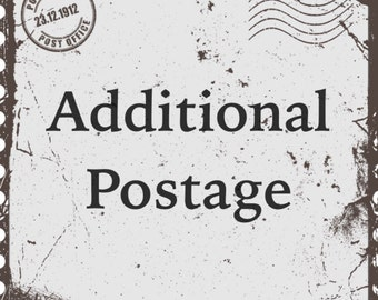 Additional Postage for Shipping