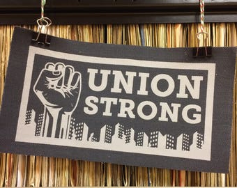 Union Strong cotton patch - 2
