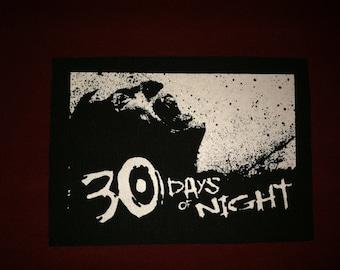 30 Days Of Night Cloth Punk Patch