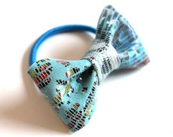 Bow hair tie - Grafitti! (M)