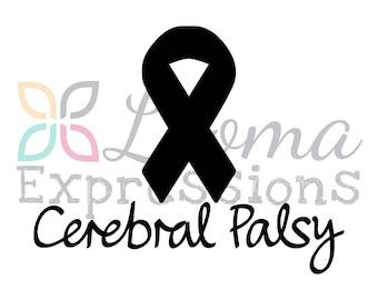 Cerebral Palsy Vinyl Decal