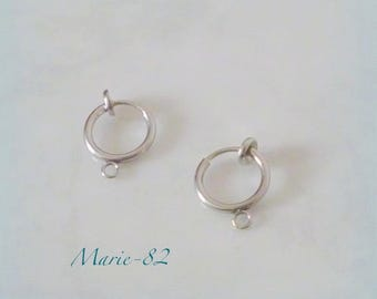 Clips holder small 12 mm - stainless steel hoops
