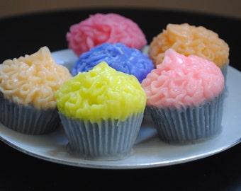 3 x Mini Muffin Soaps  - Muffin parody - birthday gift, Christmas Gift, Prank, Gag, Practical Joke