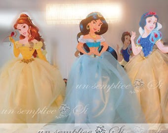Disney Princess Party -Princess CENTERPIECE - Princess Party Decor