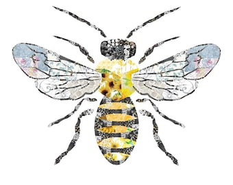 Bee Collage - Profits to Save the Bees