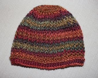 Adult MESSY BUN HAT, beanie, pony tail hat or toboggan.  Stylish while being warm