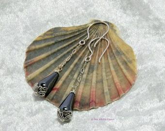 Hematite Earrings | Everyday Earrings | Classic Teardrop Earrings | Hematite Jewellery | Dangle Earrings | Haematite Earrings | Gifts |A0478