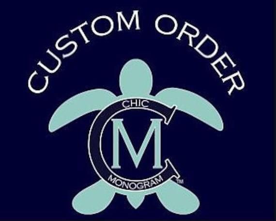 Custom Order for Hermali