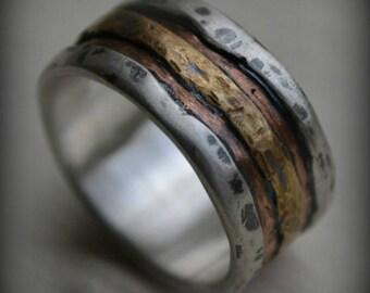 Metalsmith Jewelry Designer Custom Wedding by MaggiDesigns