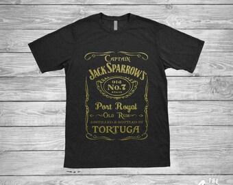 Jack Sparrow shirt - Old Rum - Pirates of the Caribbean - Dead Men Tell No Tales - Disney - Men