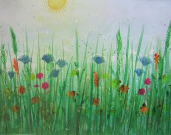 Summer Haze Original Painting