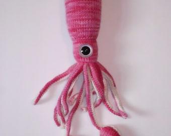 Calmar n ° 19-main tricot jouet