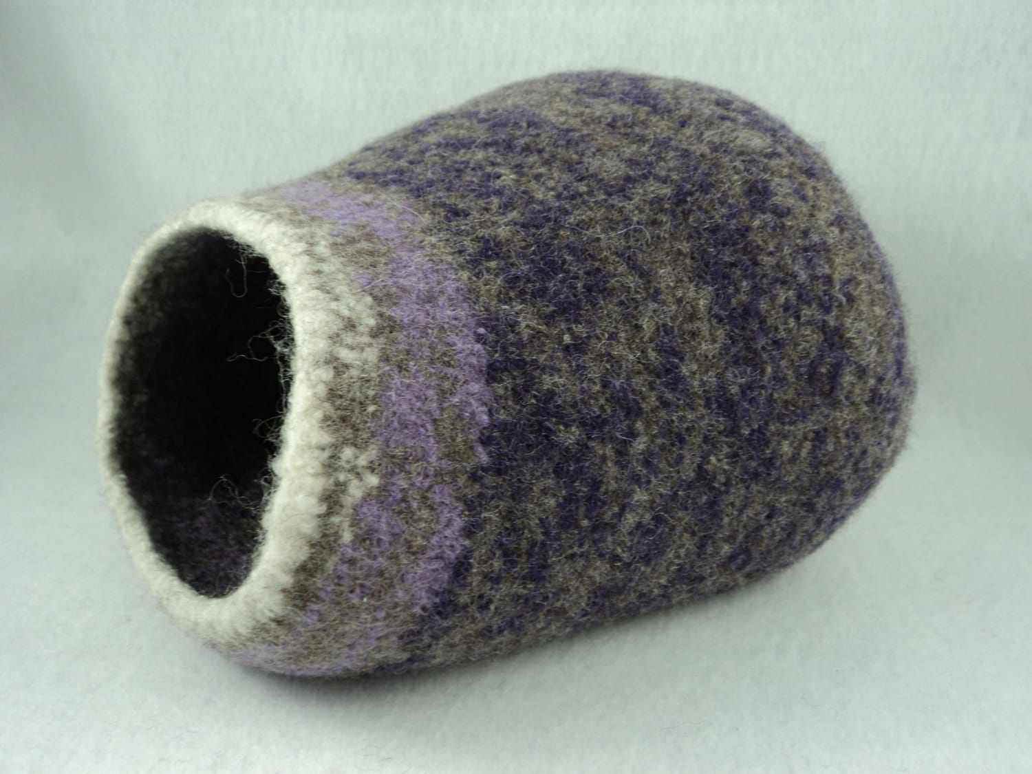 PDF Kitty Pod * Cat Cave Felted Wool Knitting Pattern from ...