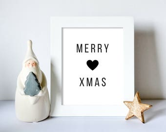 Merry Xmas Printable