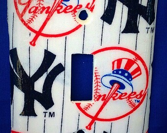 Yankees Single Light Switchplate