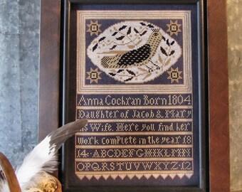 Anna's Bird Cross Stitch Pattern