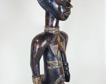 A Dan Lu Me figure Ivory Coast, Liberia- 19th century