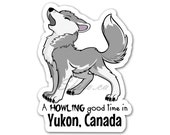 WOLF STICKER | Wolf Decal...