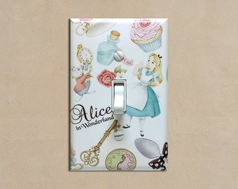 Alice in Wonderland - Light Switch Plate Covers Home Decor Outlet