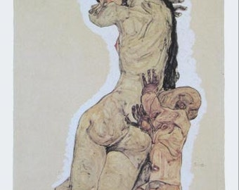 "Schiele Egon, 5, Lithograph ""Mother and Child"""