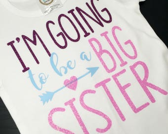Big Sister Announcement Shirt