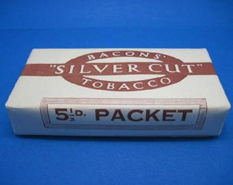 Bacons Silver Cut Tobacco (Dummy Packet)