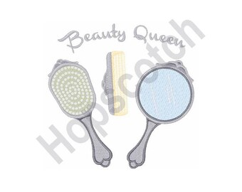 Beauty Queen - Machine Embroidery Design
