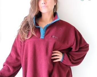 Vintage Hilton Head 1990s Jacket...size large. unisex. retro. purple. 1980s. 1990s. rad. fun. hipster. mens. swishy. mesh jacket. womens H0YEH
