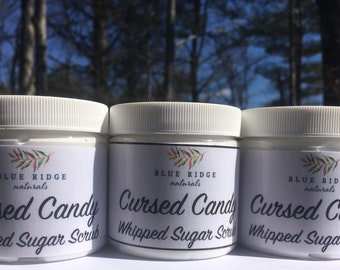 Cursed Candy Whipped Sugar Scrub Whipped Soap