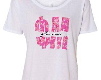 Phi Mu Slouchy T-Shirt