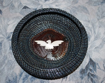 "Pine Needle Basket ""Thunderbird"""