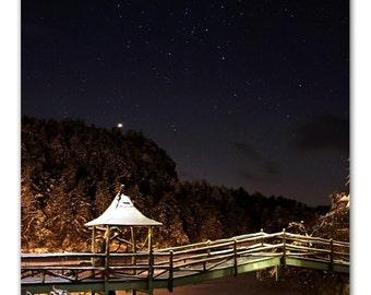 Midnight at Lake Mohonk