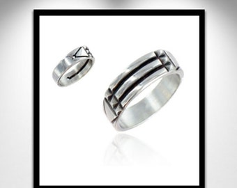 Atlantis silver ring _ ring silver Atlante