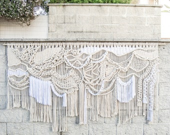 Extreme Free style Macrame wall art by Ranran Design